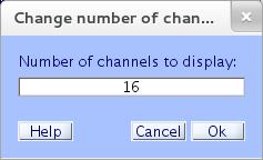 تعیین تعداد کانالها جهت نمایش در صفحه eegplot():