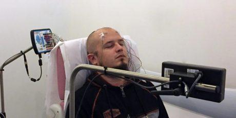 ثبت طولانی مدت سیگنال EEG توسط الکترود های خال کوبی شده