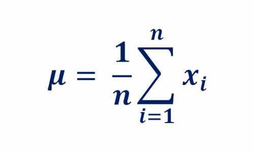 رابطه میانگین توزیع نرمال