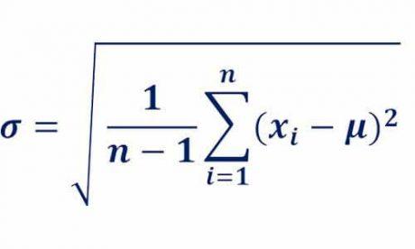 رابطه انحراف معیار در توزیع نرمال
