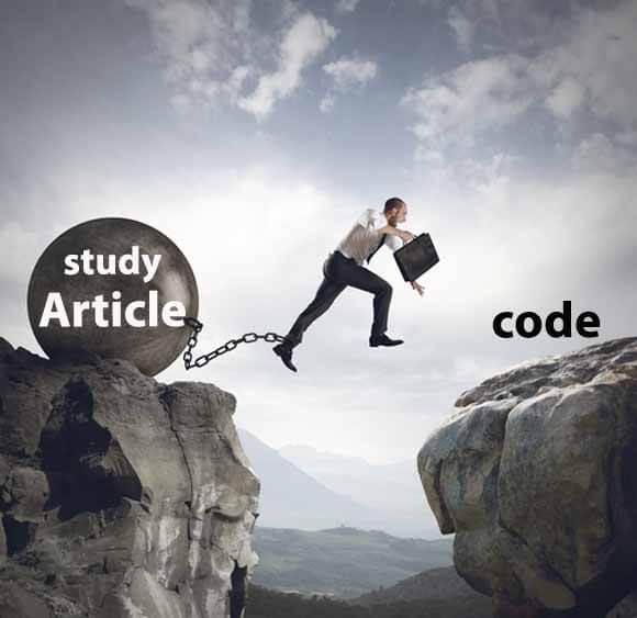 نحوه پیاده سازی مقاله