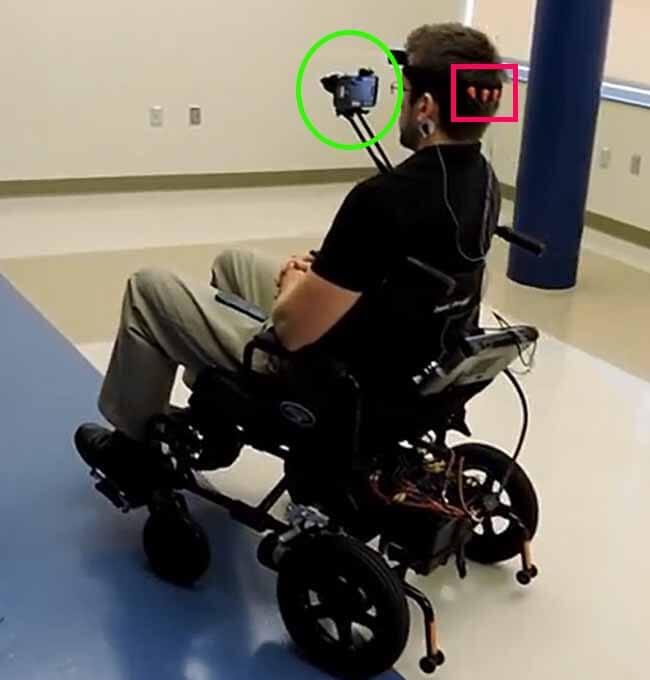 کنترل ولیچر با واسط مغز و کامپیوتر مبتنی بر ssvep