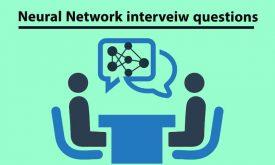 سوالات مصاحبه شبکه عصبی