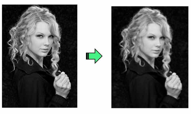 مرحله اول فیلتر canny: کاهش نویز تصویر