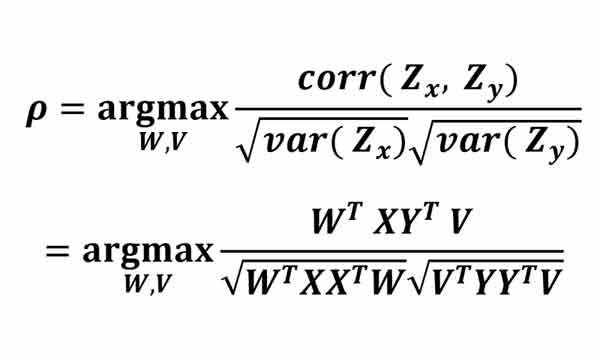 رابطه الگوریتم cca