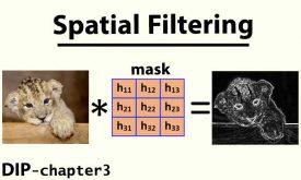 فیلترهای مکانی در پردازش تصویر