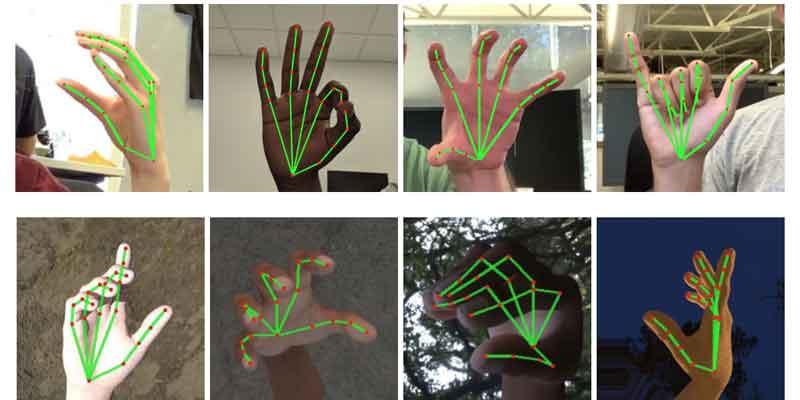 تشخیص حرکات دست با پردازش تصویر