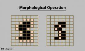 عملیات مورفورلوژی در پردازش تصویر
